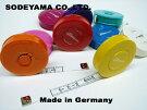 ドイツ製ヘキストマスhoechstmassNEWロールメジャー150cm10mm巾全9色カラフルメジャーヘキストマスメジャー採寸用ロータリーメジャー