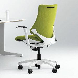 オフィスチェア/ イトーキ エフチェア クロス・ハイバック /可動肘付/樹脂脚 【 イトーキ …