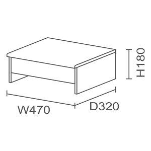 JVCケンウッドニューワークスタジオ専用オプション/プリンター台DD-U341