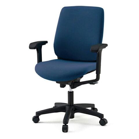 オフィスチェア/ イトーキ トルテRチェア ハイバック 布張り(GB張地)/可動肘付/樹脂脚