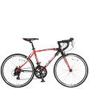 エントリでP5倍 3/26 10:00-3/29 9:59 自転車 ドッペルギャンガー 24インチ ロードバイク 軽量アルミフレーム D-modus TARANIS Junior ディーモーダス タラニス ジュニアDOPPELGANGER D40J-RD