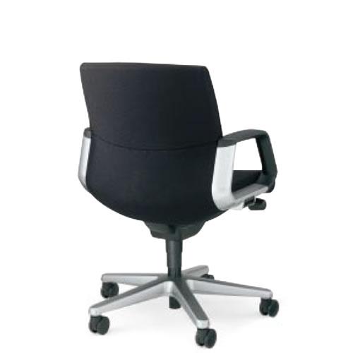 コクヨマネージメントチェアー320シリーズ社長椅子役員椅子スタンダードタイプローバックサークル肘付きCR-G320KGB6