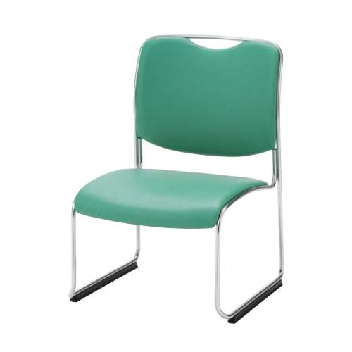 ミーティングチェア椅子会議チェアDYMETROLダイメトロールスタックチェアSH330メッキ脚ロングプラパートDA-33M