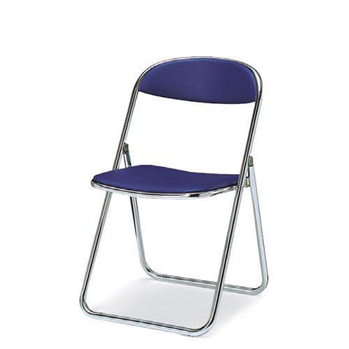 折りたたみ椅子折りたたみイススチール脚ビニールレザー座幅405タイプコクヨCF-M7V