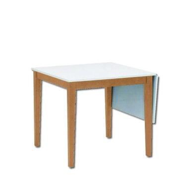 ダイニングテーブル ラビー 80BT ライトブラウン センターテーブル 伸縮テーブル YK-O3772