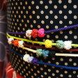 飾り紐 あわじ玉 組紐 帯締め ポップな5色 浴衣に着物に可愛いラインナップです