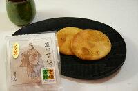 草加せんべい 草加押焼煎餅 醤油 4枚入本場の製法で作られた煎餅(せんべい)
