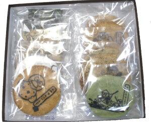 ほりゐの定番・昔ながらの草加煎餅(草加せんべい)に埼玉県のマスコット「コバトン」をプリン...