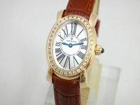 WALTHAMレディーウォルサムK18/革ベゼルDLW34レディース腕時計【】