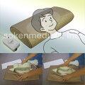 電気磁気治療器と枕