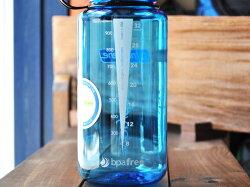 ナルゲン-広口ボトル1.0LTritanブルー[nalgene32oz(1000ml)WideMouth水筒]