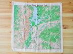 The Printed Image - Grand Teton Topo バンダナ [ザ・プリンテッド・イメージ Nature Facts Bandanas #528 グランド・ティトン国立公園 地形図]