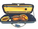 Qualityバイオリンケース3/4ブルー