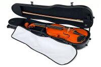 東洋楽器バイオリンケースプリュームファイバーヴィオIIプラチナカラー