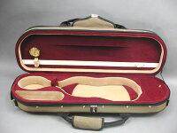 Qualityバイオリンケース1/2レッド