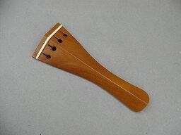 ヒル型130mm/骨フレット ビオラテールピース ボックスウッド Viola Tailpiece Boxwood Hill/130mm/Bone-fret