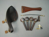 ViolinFittingsetGuaruneruGoldHillModel