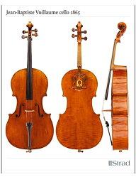 Jean-Baptiste Vuillaume cello 1865(チェロ ポスター)