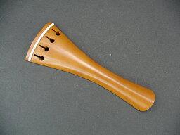 フレンチ/ホロー型 ホワイト ビオラテールピース ボックスウッド Viola Tailpiece Boxwood French-Hollow/White-fret