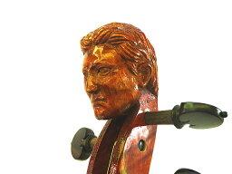 Man Head ViolinYoung Man