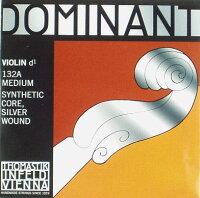 バイオリン弦ドミナントD線シルバー巻き