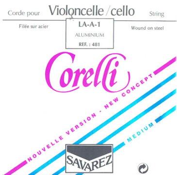 チェロ弦 Savarez Corelli A線 481