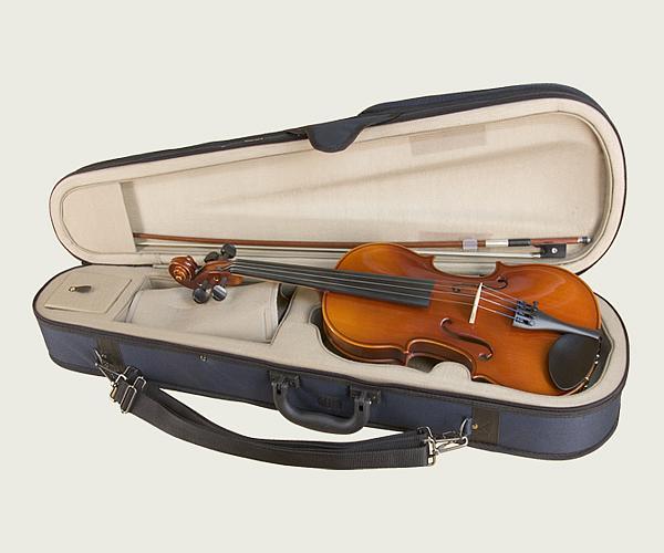 鈴木バイオリン アウトフィットバイオリンNo.210-1/2 (バイオリン、ケース、弓、松脂のセット品):底値楽器屋