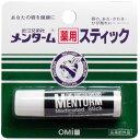 即納ドラッグ 金太郎SHOPで買える「メンターム薬用スティック リップクリーム レギュラータイプ 4g」の画像です。価格は83円になります。