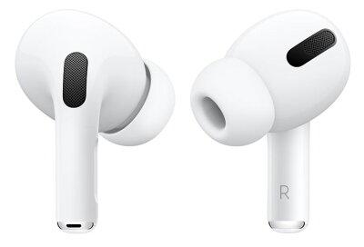 AirPods pro MWP22J/Aエアポッズプロ Bluetooth対応ワイヤレスイヤホン Apple アップル純正 ワイヤレスイヤホン ノイズキャンセリング iPhone ペアリング Bluetooth 白 ホワイト 正規品[ラッピング対応可]NKG・・・ 画像1
