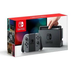 【キャッシュレス5%還元 全国送料無料 平日15時・土曜14時まで当日発送】Nintendo Switch ニンテンドー スイッチ 本体 Joy-Con (L) / (R) グレー 任天堂  (あす楽) [ラッピング対応可]