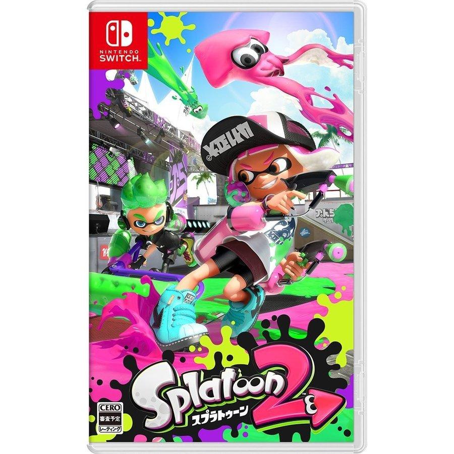 Nintendo Switch, ソフト 2 Splatoon 2 Nintendo Switch