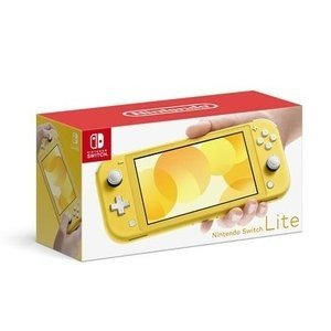 Nintendo Switch, 本体 Nintendo Switch Lite YELLOW