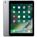 【全国送料無料 代引可 平日・土曜15時まで注文で当日発送】タブレットPC APPLE(アップル) iPad 9.7インチ Wi-Fiモデル 128GB 2018年春モデル MR7J2J/A (スペースグレイ)(CPU:Apple A10)・・・