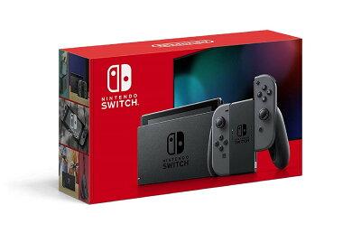【キャッシュレス5%還元 全国送料無料 平日15時・土曜14時まで当日発送】新型Nintendo Switch ニンテンドー スイッチ 本体 Joy-Con (L) / (R) グレー 任天堂 [ラッピング対応可]
