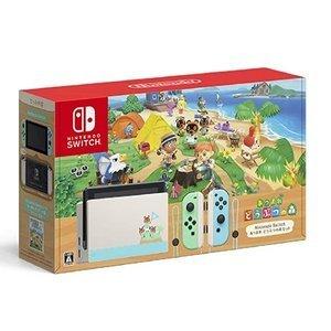 Nintendo Switch あつまれ どうぶつの森 セット 本体 任天堂 ニンテンドー スイッチ オンライン ギフト プレゼント 女性 あつもり ゲーム機 HAD-S-KEAGC あつもりカラー本体[ラッピング対応可]NKAG