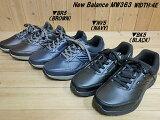 1/31日20時まで期日限定価格♪New Balance MW363 WIDTH 4E(幅広)ワイド▼BR5(BROWN)・NV5(NAVY)・BK5(BLACK)▼ニューバランス mw363 軽量メンズ・タウンウォーキングシューズ ビジネスシューズ サイドジッパー付で脱ぎ履き楽