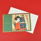 《cozyca products×中原淳一》クリスマスカード・Season's Greetings(封筒付き)