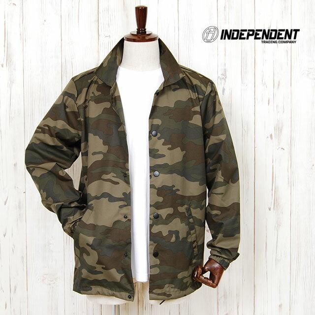 メンズファッション, コート・ジャケット  INDEPENDENT NYLON COACHES JACKET CAMO JKT HIPHOP