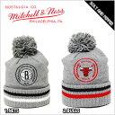 送料無料 MITCHELL&NESS GREY STANDARD BEANIE KNIT CAP CHICAGO BULLS BROOKLYN NETS RED BLACK GRAY ミッチェル&ネス スタンダード ビーニー ニット キャップ シカゴ ブルズ ブルックリン ネッツ レッド 赤 ブラック 黒 グレー 灰色 帽子