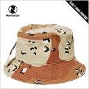 バケットハット メンズ レディース NEWHATTAN BUCKET HAT DESERT CAMO ニューハッタン コットン バケットハット デザート カモ 迷彩 メンズ 男性 レディース 女性 小物 アクセサリー 帽子 キャップ ハット 1500