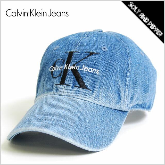 Calvin Klein Jeans カルバン クライン ジーンズ DENIM HAT LOGO SNAPBACK CAP INDIGO BLUE スナップバック キャップ ロゴ デニム インディゴ ブルー 青 帽子 小物 アクセサリー メンズ 男性 レディース 女性 ブランド アメカジ カジュアル DADCAP ローキャップ 6パネル