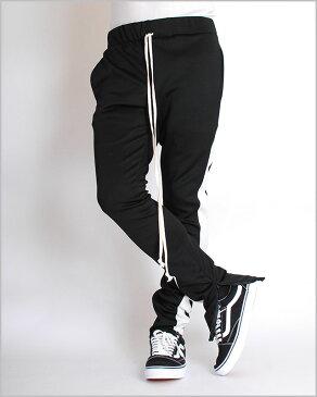 【送料無料】EPTM エピトミ TECHNO TRACK PANTS BLACK RED WHITE テクノ トラックパンツ スキニー 細身 スリムパンツ ブラック 黒 レッド 赤 ジャージ メンズ 男性 レディース 女性 ストリート ブランド eptm.裾にZIP付き