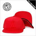 【送料無料】ALUMNI アルムナイ RED ON RED SNAPBACK CAP LOGO コットン スナップバック キャップ ロゴ レッド 赤 メンズ 男性 レディース 女性 小物 アクセサリー 帽子 ストリート HIPHOP ヒップホップ