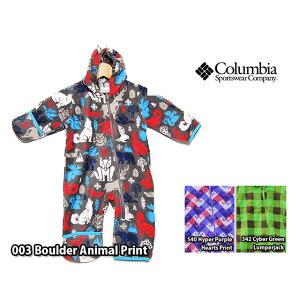 ddaf16f0a49b3f 送料無料 COLUMBIA SNOWTOP2 BUNTING コロンビア スノートップ2 バンティング フリース チャック柄 アウトドア キッズ  ベビー服 ベビー用品 子供服 男の.