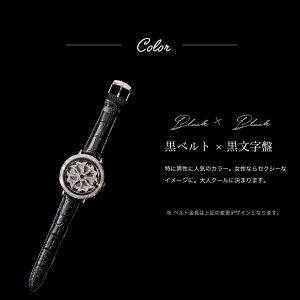 【AnneCoquine】グルグル時計★鶴モチーフビッグフェイスウォッチ〜GOLD〜-anne-92345d画像