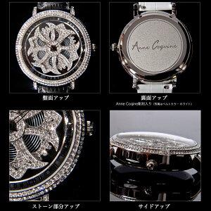 【AnneCoquine】グルグル時計★鶴モチーフビッグフェイスウォッチ〜GOLD〜-anne-92345f画像