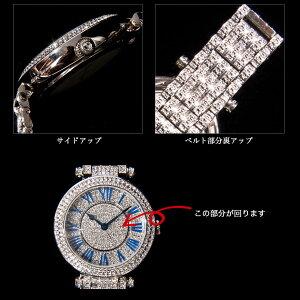 【AnneCoquine】グルグル時計★鶴