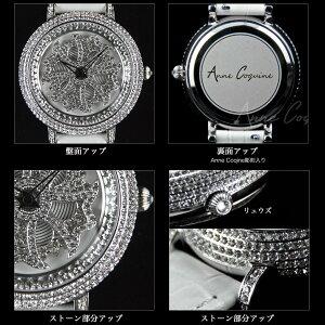【AnneCoquine】グルグル時計★鶴モチーフビッグフェイスウォッチ〜GOLD〜-anne-92345g画像