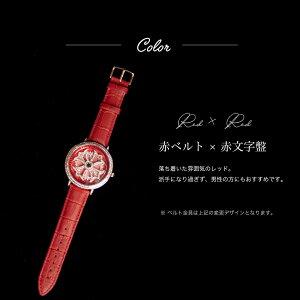 【AnneCoquine】グルグル時計★鶴モチーフビッグフェイスウォッチ~GOLD~-anne-92345d画像