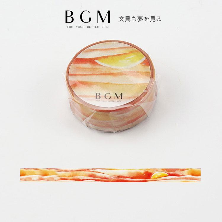 ギフトラッピング用品, デザインマスキングテープ BGM 15mm 15 BGM-BM-SPS005 1.5cm Special